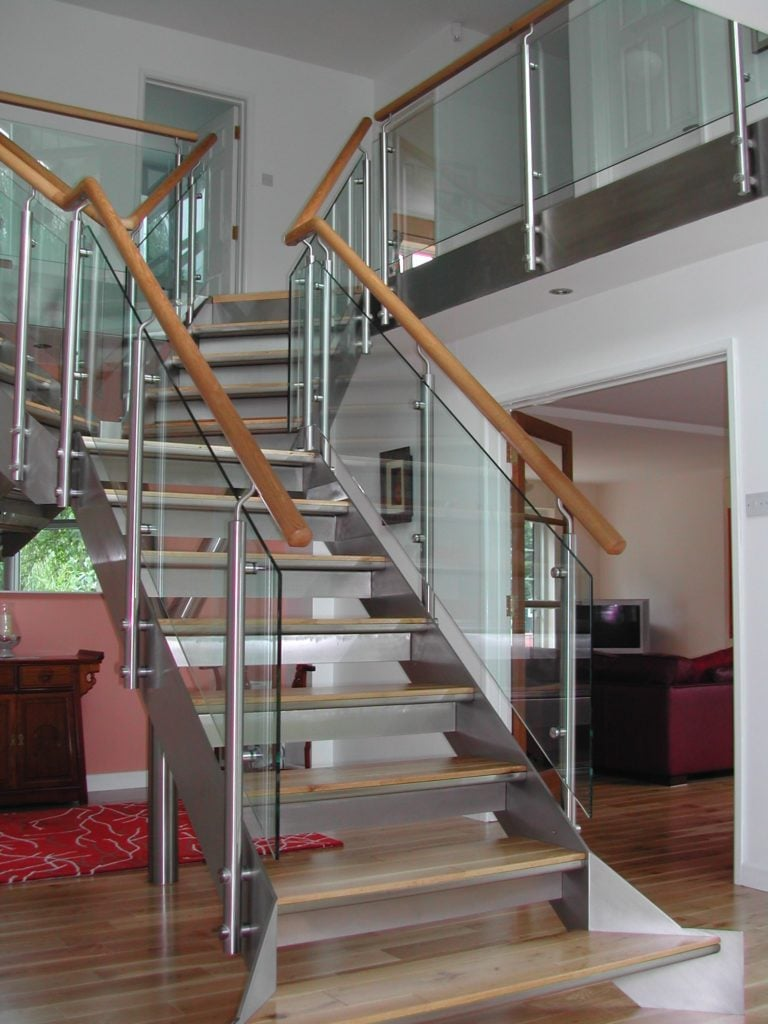st+steel+glass+and+oak+staircase+1 R & P Engineering Swindon